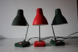 Drie vintage vouwlampjes /  Three vintage folding lamps [verkocht]