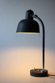 Zwarte vintage Wila lamp /  Black vintage Wila lamp [sold]