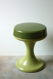 Emsa Vintage krukje begin jaren zeventig / Emsa stool vintage early seventies [verkocht]