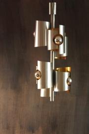 Max Sauze, 70`s Super space age hanglamp 70 cm / Super space age hanging lamp 70 cm [ VERKOCHT ]