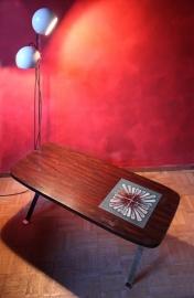 Salontafel met kunsttegels `60 [verkocht]