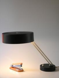 Hala vintage zwarte bureau lamp `50 / Hala vintage black desklamp `50 [sold]