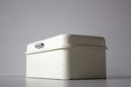 Koektrommel Brabantia / Brabantia biscuit tin  [verkocht]