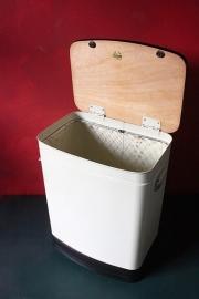 Brabantia wasmand metaal `50 / Brabantia laundry basket metal `50 [verkocht]