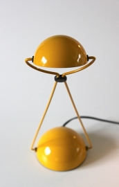Stefano Cevoli lamp oker / Stefano Cevoli lamp ocher [verkocht]