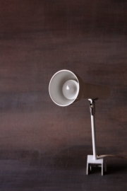 Hala wit klemlampje `50 / Hala white clamp lamp `50 [verkocht ]