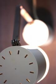 Wit stijlvol vouwlampje `70 / White stylish fold light ` 70