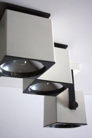 Philips blok muurlampjes / Philips square wall lamps [verkocht / sold]