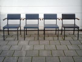 4 Martin Visser 't Spectrum stoelen / 4 Martin Visser 't Spectrum chairs [sold]