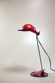 Rood lampje halogeen `80/ Red lamp halogen `80 [sold]