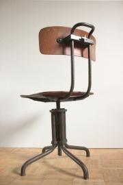 Gispen stoel model 353 industriële werkstoel / Gispen industrial chair model 353