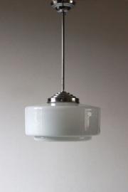Rechte artdeco hanglamp / Straight line artdeco pendant [verkocht]
