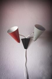 Hala dubbele muurlamp `50 / Hala dubble wall lamp `50 [verkocht]