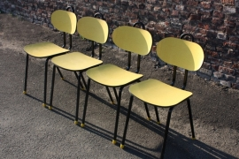 Belgische buisstoeltjes `50 / Belgian tubular chairs `50 [verkocht]