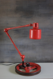 Industriële vintage werklamp / Industrial vintage desk lamp [sold]