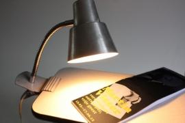 Aluminium klemspotje `60 / Aluminum clip spot 60s [sold]
