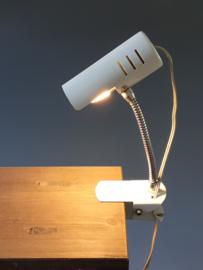 Klemlampje wit '70 / Clamp light white '70