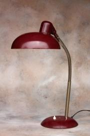 Aubergine industriële Sis bureaulamp / Eggplant  industrial Sis desklamp [verkocht]