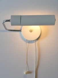 Hala Wit muurlamp 16cm / Hala wall lamp white `60 [sold]