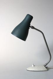 Zeegroene bureaulamp / Aquamarine desk lamp [verkocht]