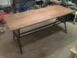 Industriële bureau tafel / Industrial desk table [sold]