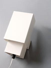 Kubusachtig vintage lampje van Anvia / Cube-like vintage lamp by Anvia