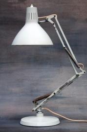 Hala industriële bureaulamp `60 / Hala industrial dekslamp `60 [verkocht ]