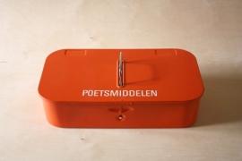 Poetstrommel metaal `50 / [verkocht]