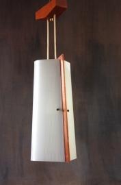 Hanglamp deense stijl / Hanging lamp Danish style          (verkocht)