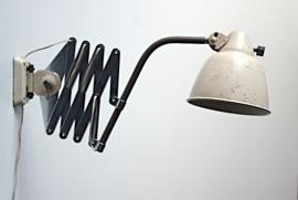 Vintage Helo bauhaus schaarlamp / Vintage Helo bauhaus scissorlamp [sold]