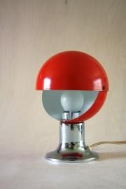 Rood klein verstelbaar bollampje `70 [verkocht]