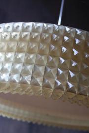 Belgische hanglamp `kristallen` tl / Belgian hanging lamp ` crystals ` tl