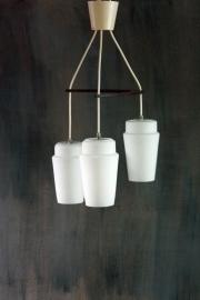 Hanglamp driedelige scandinavisch / Hanging lamp triple scandinavian [sold]