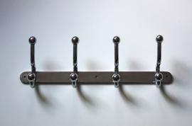 Verchroomde stevige kapstok / Chromed solid coat rack [verkocht]