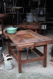 Vintage werkbank / Carpenter workbench [sold]
