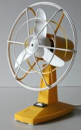 Ventilator Severin oranje/wit / Fan Severin orange/white  [verkocht]