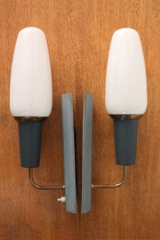 2 Philips muurlampen / 2 Philips wall lamps [sold]
