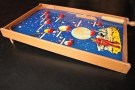 Knikkerspel Ruimteraket `60 / Marble game Spacerocket sixties [verkocht]