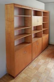 Wandkast systeem hout / Wooden wall unit [verkocht]