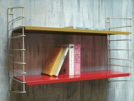 Tomado white vintage wall rack `50  [verkocht]