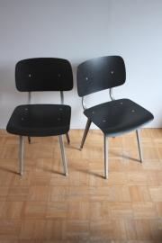 Friso Kramer Result stoel zwart geribbeld [verkocht]