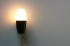 Philips muurlampje bakeliet / Philips wall bakelite lamp [verkocht ]