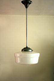 Art deco hanglamp / Art deco ceiling lamp [verkocht]