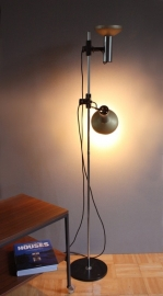 Staande lamp metaal `60 / `60 Metal floor lamp (sold)