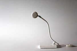 "Anvia witte bureaulamp / ""Anvia"" white desk lamp"