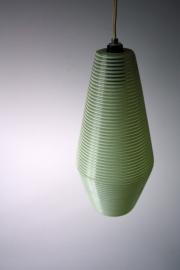 Kunststof `draad` hanglamp / Plastic ` wire ` hanging lamp [verkocht]