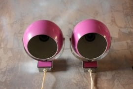 Paarse bollampjes `70 / Purple globes `70 [verkocht]
