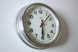 Klok Palmtag Chroom / Palmtag Chrome Clock [verkocht]