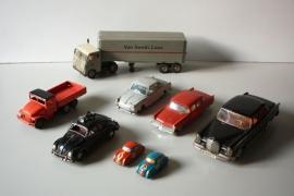 Blikken vintage modelauto`s / Tin Vintage model cars [verkocht]