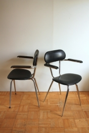 Buisstoelen vintage 2x /  Tubular Chairs vintage 2x [sold]